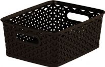 Curver Nestable Rattan Basket Brown - 8L